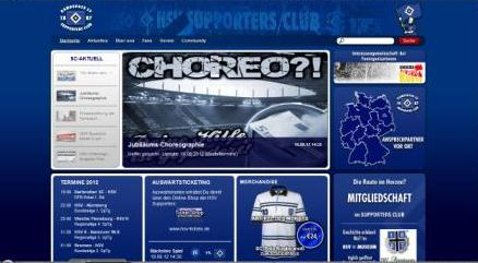Homepage HSV Supporters