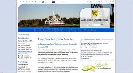 Homepage Gemeinde Osterroenfeld