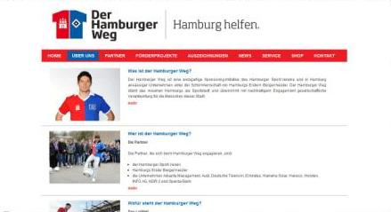 Homepage Hamburger Weg