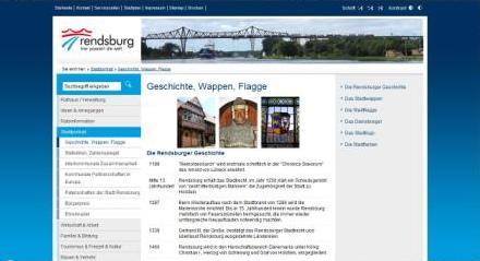 Homepage Stadt Rendsburg