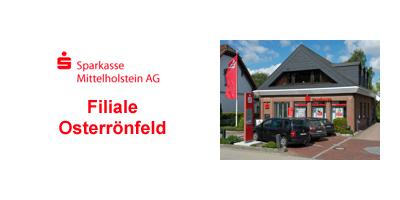 Sparkasse Mittelholstein Filiale Osterroenfeld banner