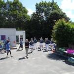 Einmarsch in die Aukampschule