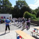 Schlußspiel auf dem Gelände der Aukampschule
